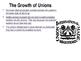 U.S. History Labor Unions/Strikes Power Point Presentation