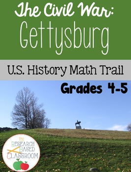 U.S. History Math Trail: The Battle of Gettysburg
