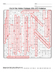 U.S. History STAAR Word Search Puzzle Ch-24: The Sixties-V