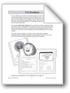 U.S. Presidents File Folder Report