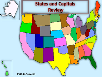 U.S. States and Capitals Review