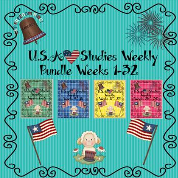 U.S. Studies Weekly Bundle Weeks 1-32