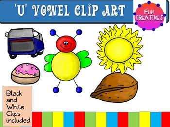 U Vowel Clip Art