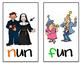 UG/UN Word Family Posters!