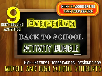 ULTIMATE Back to School Activity FUN-DLE: Activities and P