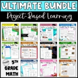 ULTIMATE Project Based Learning Math Pack for Upper Elemen