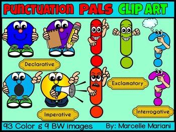 PUNCTUATION PALS CARTOON CLIP ART GRAPHICS (102 IMAGES) Co