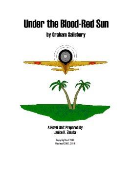UNDER THE BLOOD RED SUN by Graham Salisbury Novel Study Unit