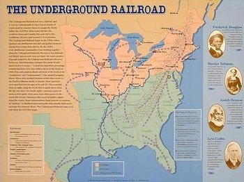 UNDERGROUND RAILROAD PHOTOS AND DOCUMENTS POWERPOINT
