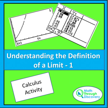 UNDERSTANDING THE DEFINITION OF A LIMIT-1