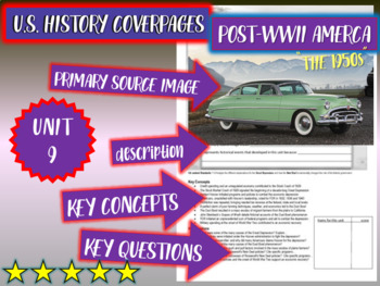UNIT 9: POST-WWII AMERICA (1945-50s) - U.S. History coverp