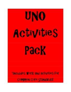 UNO Activites Pack