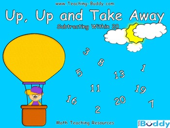 UP, UP and Take Away – Subtraction within 20