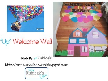 """UP"" Welcome Wall"