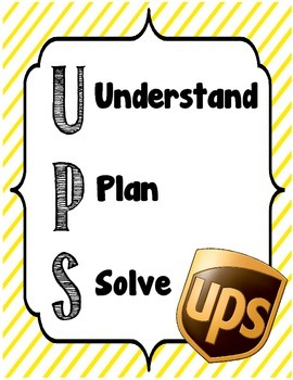 UPS Poster