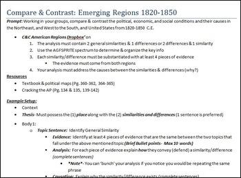 U.S. C&C American Emerging Regions (1820-1850)