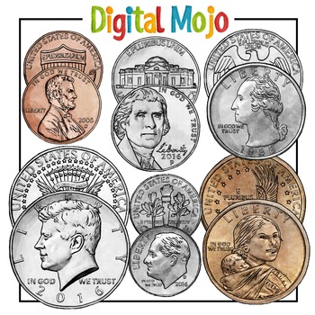 US Coin Clipart