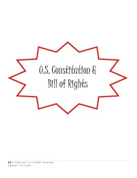 U.S. Constitution, Bill of Rights, Plus MORE