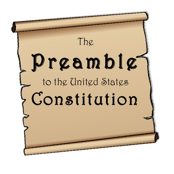 Printables Preamble Worksheet u s constitution preamble worksheet dbq by kristen dembroski students write p