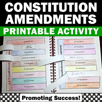 Constitution Day Craftivity Interactive Notebook