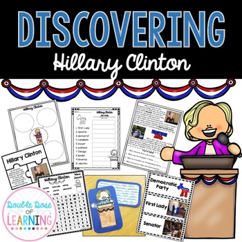US Election 2016: Hillary Clinton Research Unit with PowerPoint