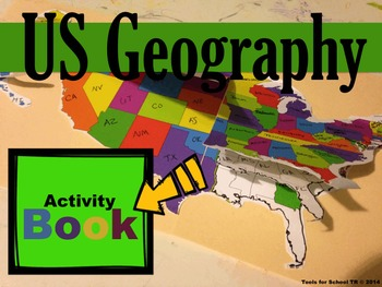 US Geography Activity Book