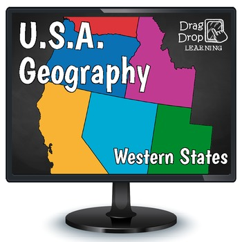 Smartboard US Geography - Western United States