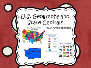 U.S. Geography and State Capitals