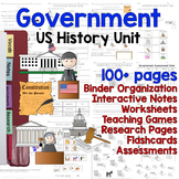US Government / 3 Branches / Election / Voting Unit - Diff