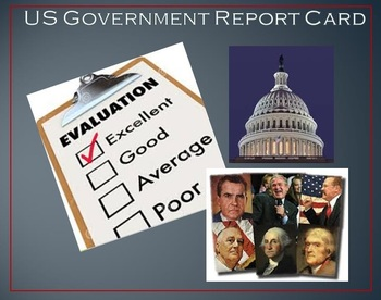 US Government Report Card