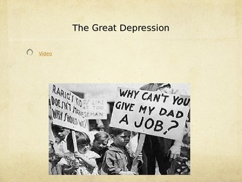 US Hist SC 6.3 Common Core Ready - Great Depression/Stock