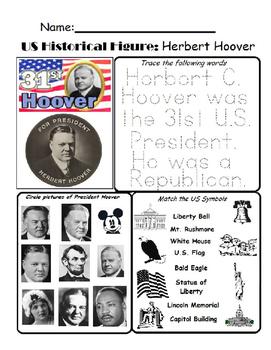 US Historical Figure - Herbert Hoover