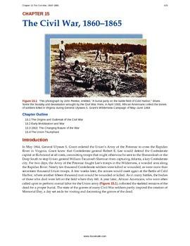 US History - 15 - The Civil War