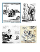 US History 1920-1940 Political Cartoon History Matching Worksheet