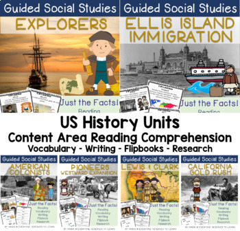 US History Bundle 5W's and How