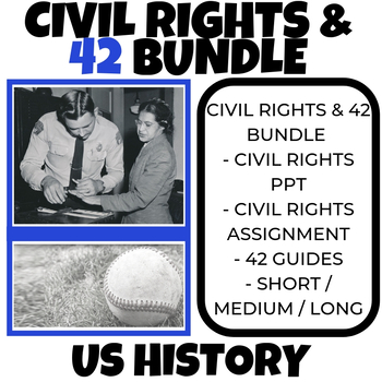 Civil Rights Activities - Black History - 42 Movie Guide -