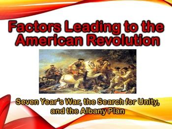 Colonial America Factors Leading American Revolution Power
