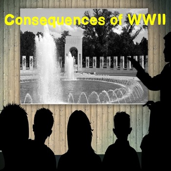 US History Middle School: Consequences of WWII(Webquest)