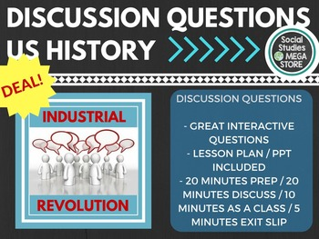 Discussion Questions Industrial Revolution / Progressives