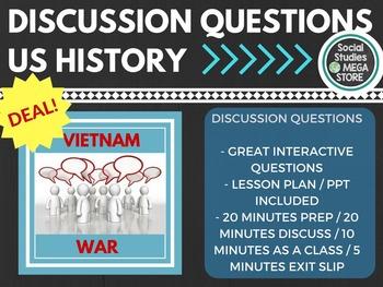 Discussion Questions Vietnam War US History