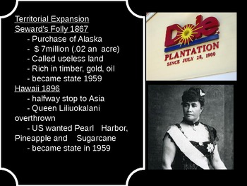 US History Goal 6 day 1 The Spanish-American War US Imperialism