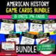 US History Great Depression New Deal Game Cards (20 I Have