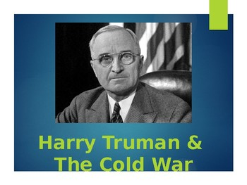 Harry Truman 1948 Election and the Fair Deal PowerPoint (U