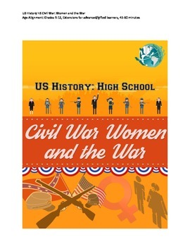 US History Lesson Plan: Women and the Civil War