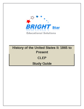 US History II (CLEP College Level Examination Program) Tes