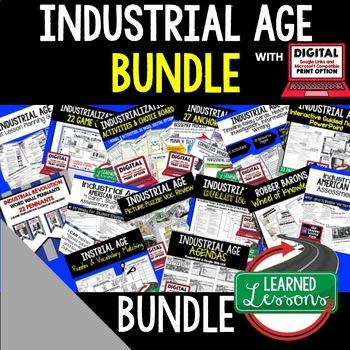 US History Industrialization BUNDLE (American History Bundle)