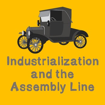 US History Middle School Lesson Plan: Industrialization an
