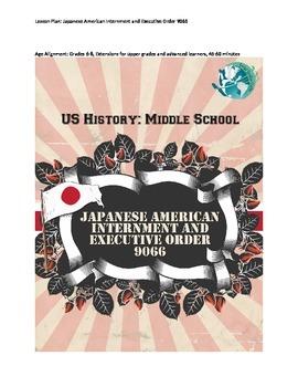US History Lesson Plan: Japanese Internment