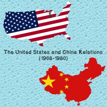 US History Middle School: United States and China Relation