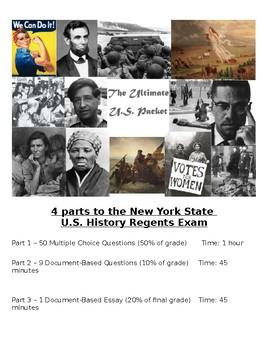 US History Regents Guide - Thematic Essay, DBQ & DBQ Essay
